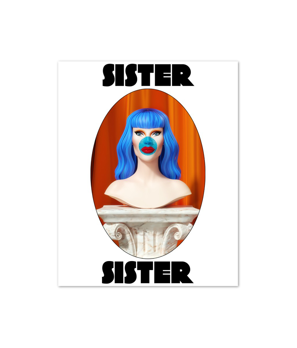 Sister Sister - Signed Bust Print