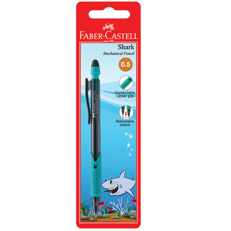 Shark Mechanical Pencil, 0.5mm, BC of 1 (Assorted Colour)