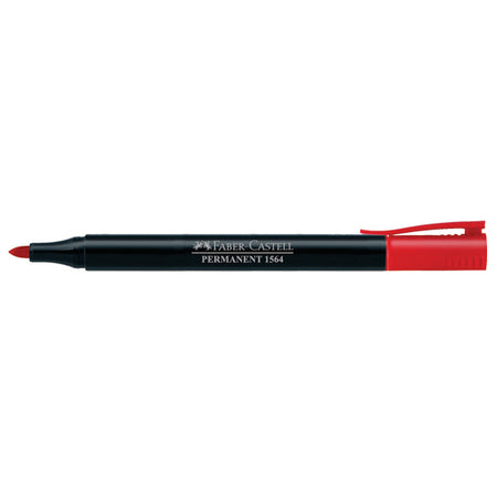 Marker Slim Permanent fine, red, blistercard of 1
