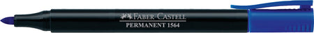 Marker Slim Permanent fine, blue, box of 10
