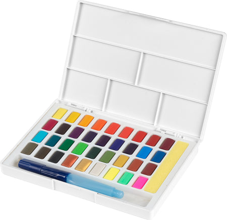 Watercolours in pans 36ct set