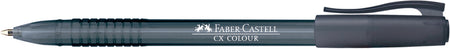 Ballpoint pen CX Colour, black, Box of 10