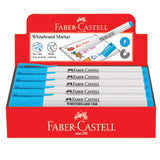 Marker Slim Whiteboard, fine, light blue, box of 10