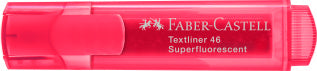 Textliner 46 Superflourescent, red - Box of 10