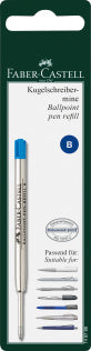 Spare refill ballpoint pen, large-capacity refill B, blue