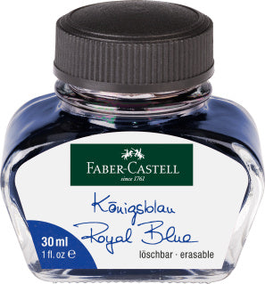 Ink bottle,?ÿ30 ml, ink?ÿblue erasable