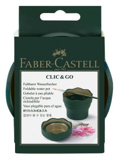 Clic&Go water cup, dark green