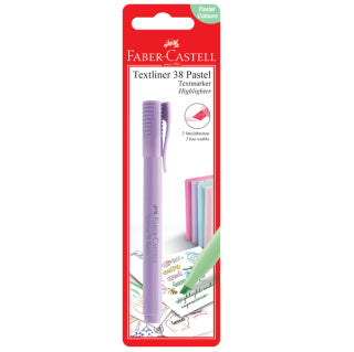 Textliner 38 Pastel - BC of 1 pc - Lavender
