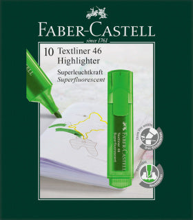 Textliner 46 Superflourescent, green
