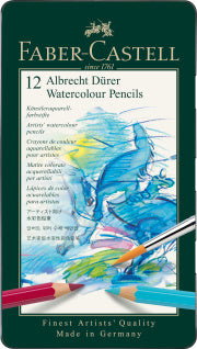 Albrecht duerer watercolour pencil, tin of 12