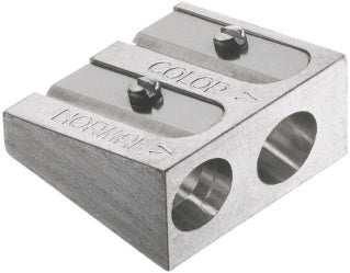Twin metal sharpener for artists