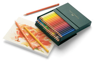 Polychromos colour pencil, studio box of 36