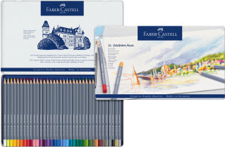 Goldfaber Aqua watercolour pencil, tin of 36