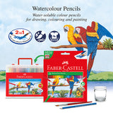 Watercolour pencil refill pack 12L