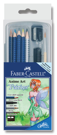 Art Grip Aquarelle Anime Art Fairies - Clear Box