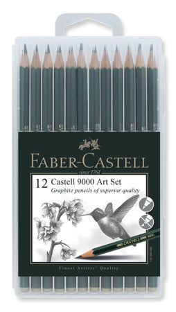 Castell 9000 Set in SlimFlexi Case