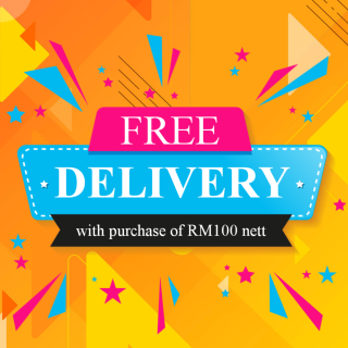 FREE DELIVERY with nett spend of