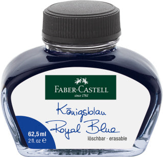Ink bottle, 62.5 ml, ink blue erasable