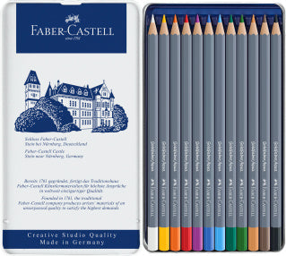 Goldfaber Aqua watercolour pencil, tin of 12
