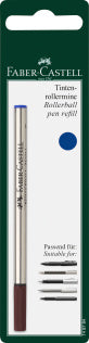 Spare refill for Fine Writing rollerball, M, blue