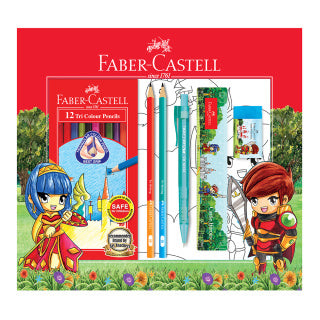 Gift Set Castle Heroes Colouring 2020