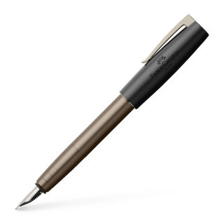 Loom Gunmetal fountain pen, B, anthracite matt