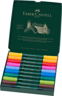 Albrecht duerer Watercolour Marker, wallet of 10