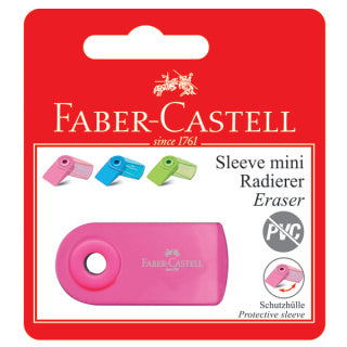Eraser Sleeve Mini, Flourescent Colours