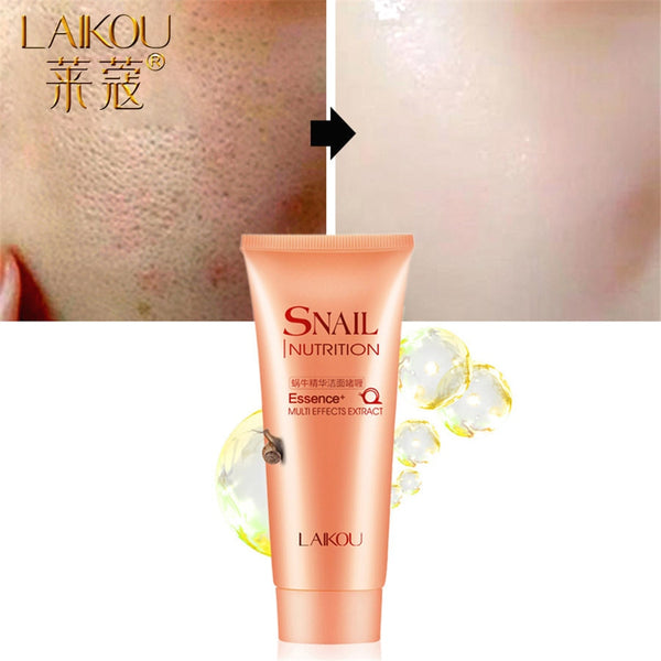 LAIKOU Snail Facial Cleanser Facial Cleansing