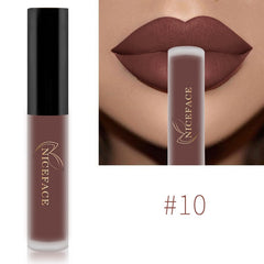 NICEFACE Lip Gloss 34 Colors Nude Matte Liquid Lipgloss