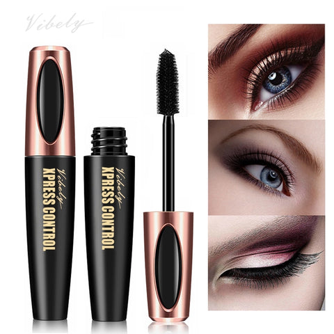 4D mascara waterproof mascara makeup eyelashes thick