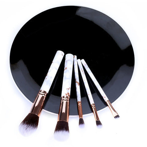 5pcs Soft Set Of Makeup Brushes kits For Highlighter