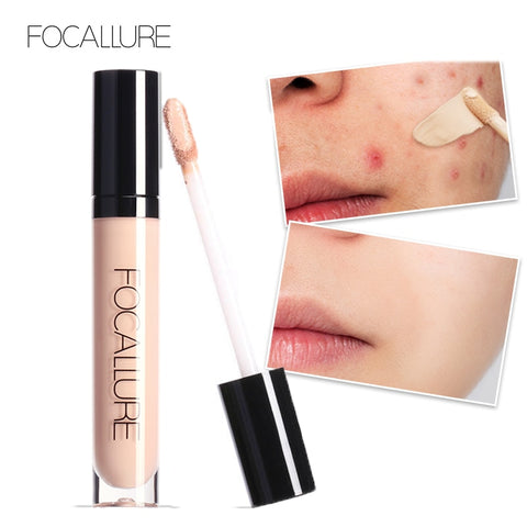 FOCALLURE Full Coverage Makeup Liquid Concealer