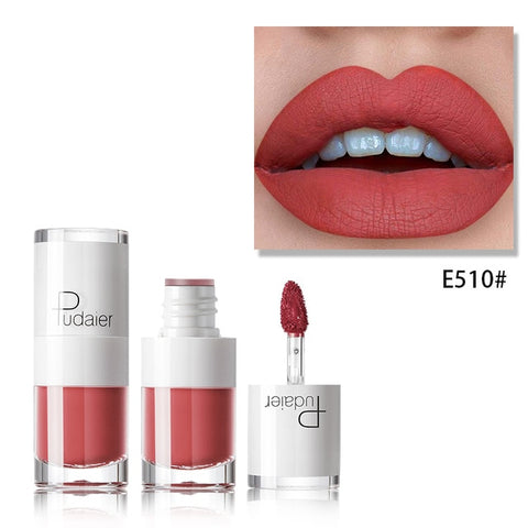 Matte Liquid Lipstick Waterproof Red Velvet Lip Linear
