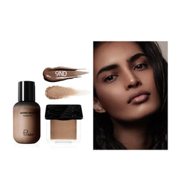 Pudaier Face Foundation Makeup Set Liquid Foundation Cream
