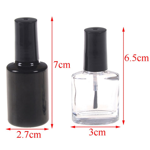 10ML 15ML Empty Nail Polish Bottle Cosmetic