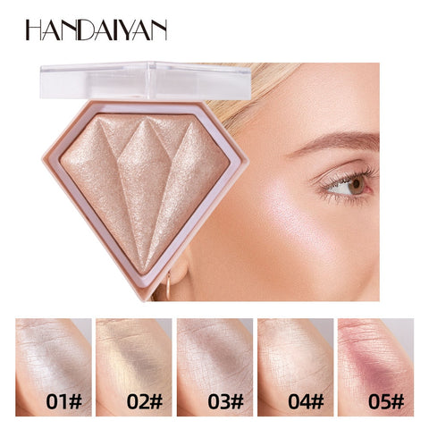 Diamond Highlighter Powder Glitter Palette