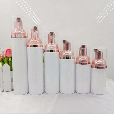 10pcs Plastic Foamer Pump Bottle Refillable