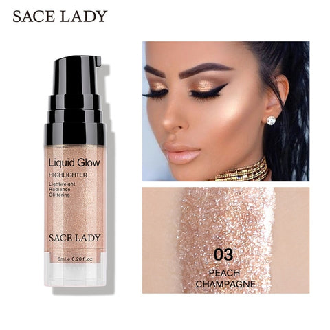SACE LADY Face Highlighter Cream Liquid Illuminator