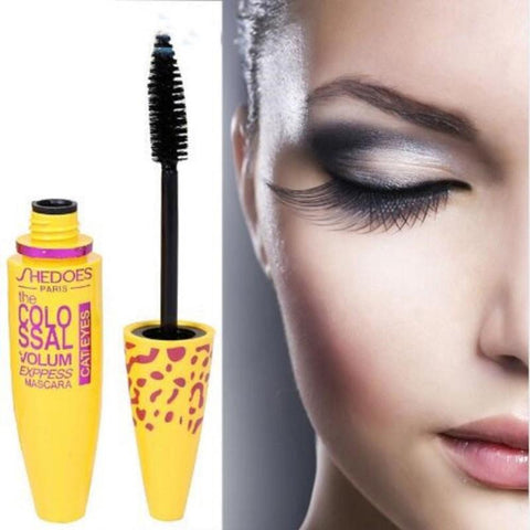 New Mascara 4D Silk Fiber Eyelash Mascara