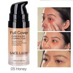 SACE LADY Face Concealer Full Cover Makeup Waterproof