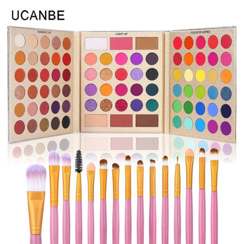 UCANBE 86 Colors All-purpose Makeup Playbook