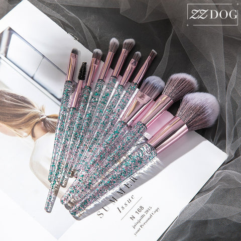 ZZDOG 7/10 Professional Makeup Brushes Set Eyeshadow