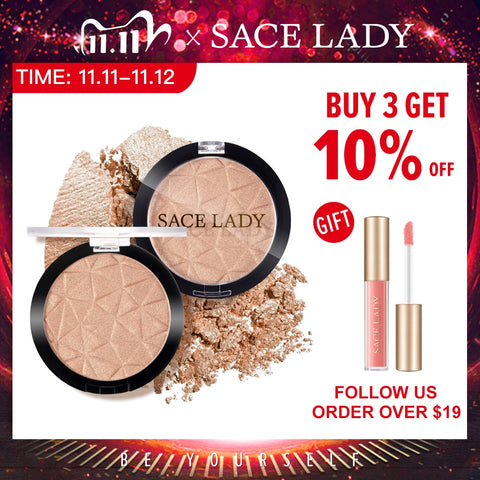 SACE LADY Highlighter Powder Glitter Palette
