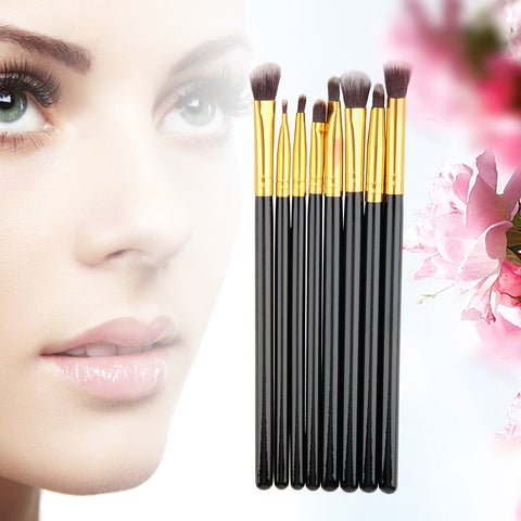 8pcs Makeup Brush Blend Shadow Angled Eyeliner
