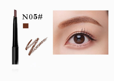 New 5 Color Eyebrow Pencil Natural Waterproof