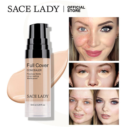 SACE LADY Full Cover Liquid Concealer Makeup