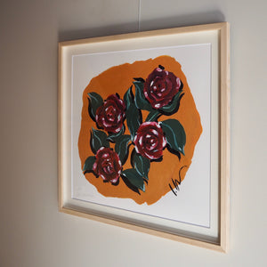 〝ROSE〟 GICLEE PRINT + WOOD FRAME/限定20セット