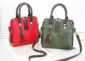 Vintage PU Leather HandBags - Thamaras