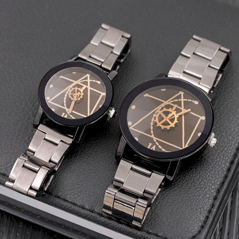 Stainless Steel Fashion Couple Watches - HiMayura